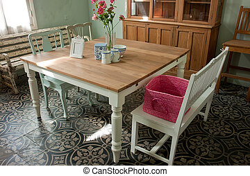 Interior design beautiful dining room
