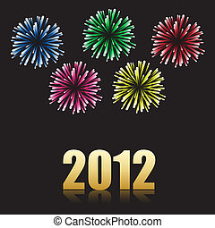 2012 new year celebration