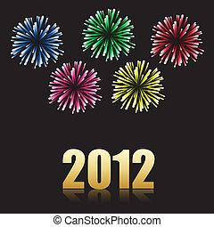 2012 new year celebration