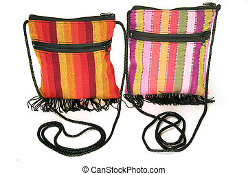woven bag purse made in Nicaragua