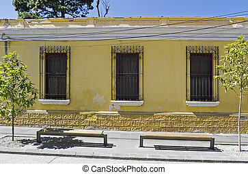 Spanish colonial house in Guatemala