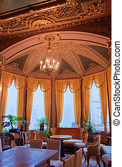 Interiors of the Polovtsov mansion - Architect's house, St.Petersburg, Russia
