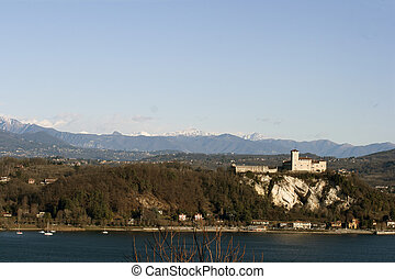 Rocca Angera - Rocca d'Angera, famous castle on Lago...