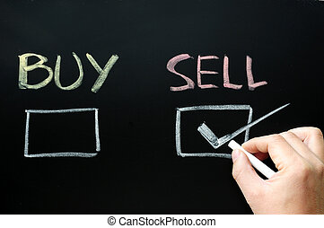 Buy or sell check boxes on blackboard
