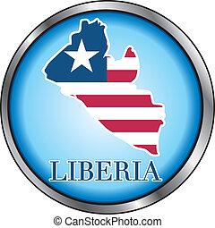 Liberia Round Button