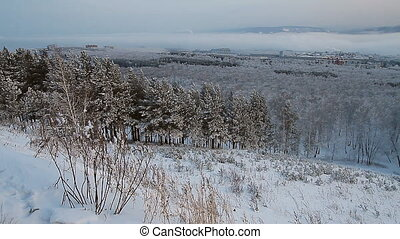Winter scene 13 - Winter snow landscape