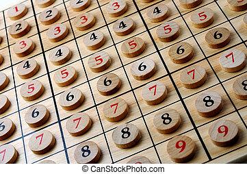 sudoku numbers in order