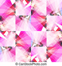 Vector crumpled paper - Vector abstract background of...
