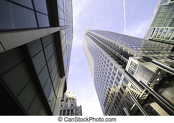 Skyscapers.