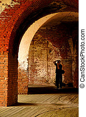 Photographing an Old Fort