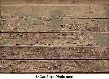 Distressed Wood Plank Texture - Distressed wood planks on an...