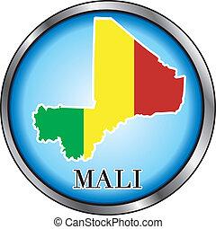 Malawi Round Button