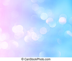 Bright lights holiday background