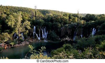 waterfall Kravice, Ljubuski, Bosnia and Herzegovina
