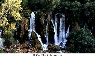waterfall Kravice, Ljubuski, Bosnia and Herzegovina