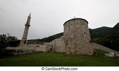 Old castle in Travnik, Bosnia and Herzegovina