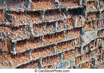 Very old weathered wall - Very old wheathered wall needs...