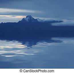Mount Kenya - Night scene Mount Kenya Africa
