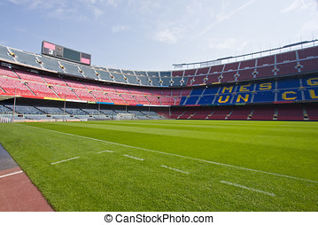 Soccer stadium Camp Nou in Barcelona
