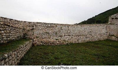 Old castle in Travnik, Bosnia and Herzegovina