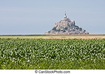 Mont Saint Michel in Normandy