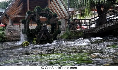 Old mill, in Travnik, Bosnia and Herzegovina