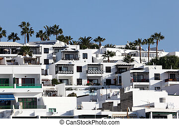 Residential house on Canary Island Lanzarote, Spain