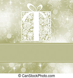 Christmas card template EPS 8 - Christmas card template...