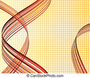 Striped abstract background Vector illustration