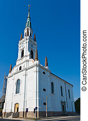 Seat of the reformed Bishop of Miskolc - Seating church of...