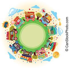 shop market around world