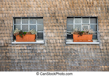 House facade of the Black Forest - Typical house facade of...