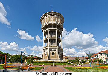 Old water tower of Szeged