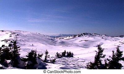 Bjelasnica mountain, Bosnia and Herzegovina, olympic beauty