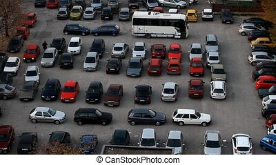 Parking problem in city