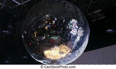 Disco Ball - Big Disco Ball, shoot Canon 5D Mark II