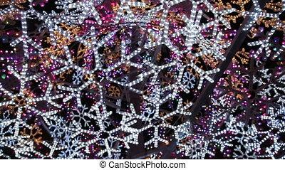 christmas abstract light 2 - colorfull abstract light, shoot...