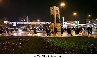 taksim square at istanbul 2