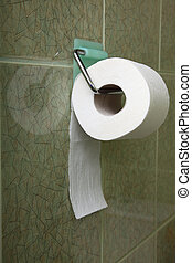 Toilet roll indoor convenience restroom - Toilet roll in...