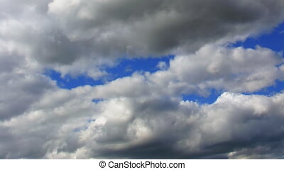 moving clouds in sky timelapse - timelapse moving clouds in...