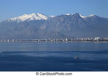 Antalya 585 - City and Coastline of Antalya