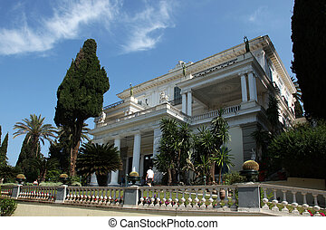 Achilleion Corfu - Achilleion is a palace built in Corfu by...