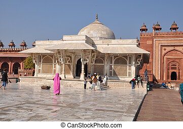 Mosque at Fatehpur Sikri in India