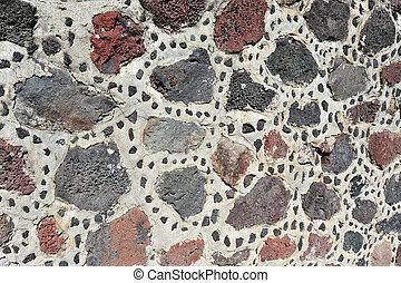 Stone Background - Stone and concrete background. An ancient...