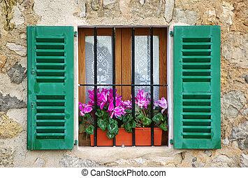 Mediterranean Window