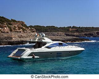 yacht in Majorca