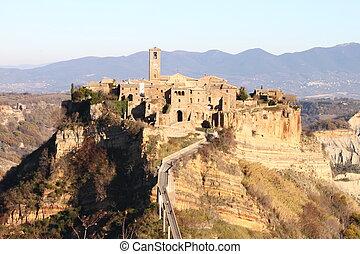 Civita di Bagnoregio, the dying city near Rome, Italy