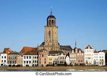 Deventer - The Netherlands - City view of Deventer, The...