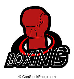 Boxing emblem design - Creative desing of boxing emblem