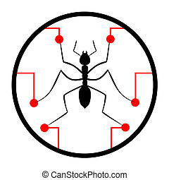 Science insect - Creative design of science insect